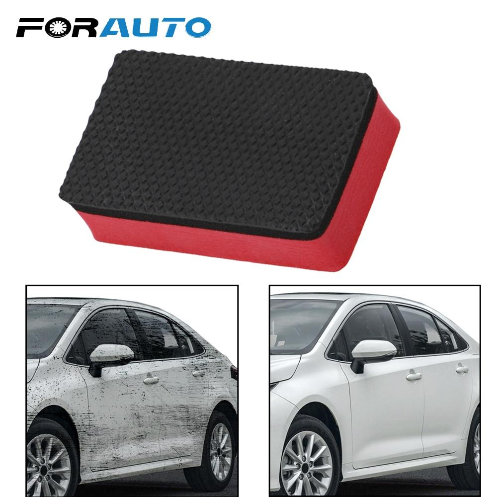 FORAUTO Car Magic Clay Bar Cleaning Eraser Sponge Maintenance Tool Car Wash Sponge Wax Polish Pad Auto Care Detailing