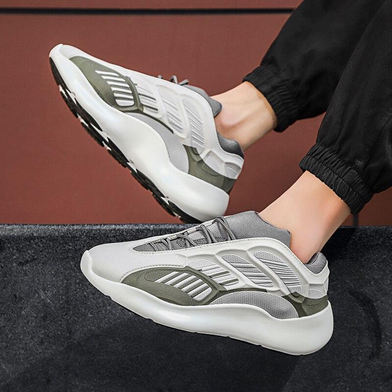 Zapatillas de deporte para hombre, zapatos casuales para hombre, zapatillas deportivas de lujo para hombre, zapatos deportivos ligeros para caminar, suela suave para hombre, para hombre