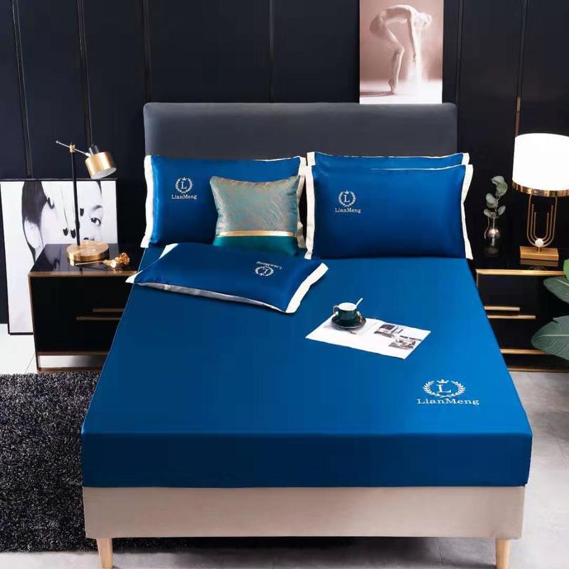 طقم سرير قابل للغسل ، ملاءة ملائمة ، غطاء مرتبة ، مكيف هواء ، غطاء وسادة