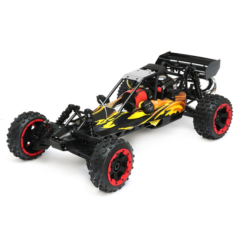 Hot Rovan 1/5 2.4G RWD 80km/h RC Car 29cc Petrol Engine without Battery RC Car for Kids Boys Present