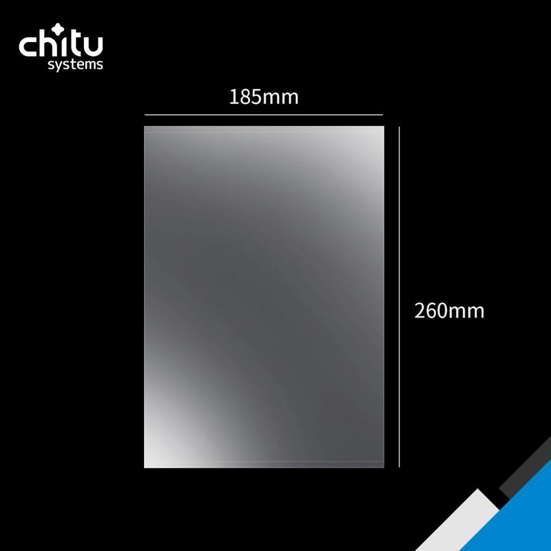 260 مللي متر * 185 مللي متر FEP فيلم ل Anycubic مونو X/Elegoo زحل