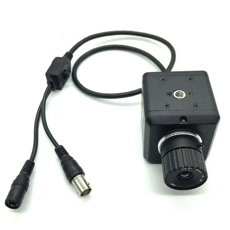 كاميرا بسطوع 1200TV مقاس 1/2 MCCD Prime كاميرا BNC AV لتقوم بها بنفسك للتصيد والرؤية الليلية والرؤية بالأشعة تحت الحمراء فلتر صناعي بالأشعة تحت الحمراء ...