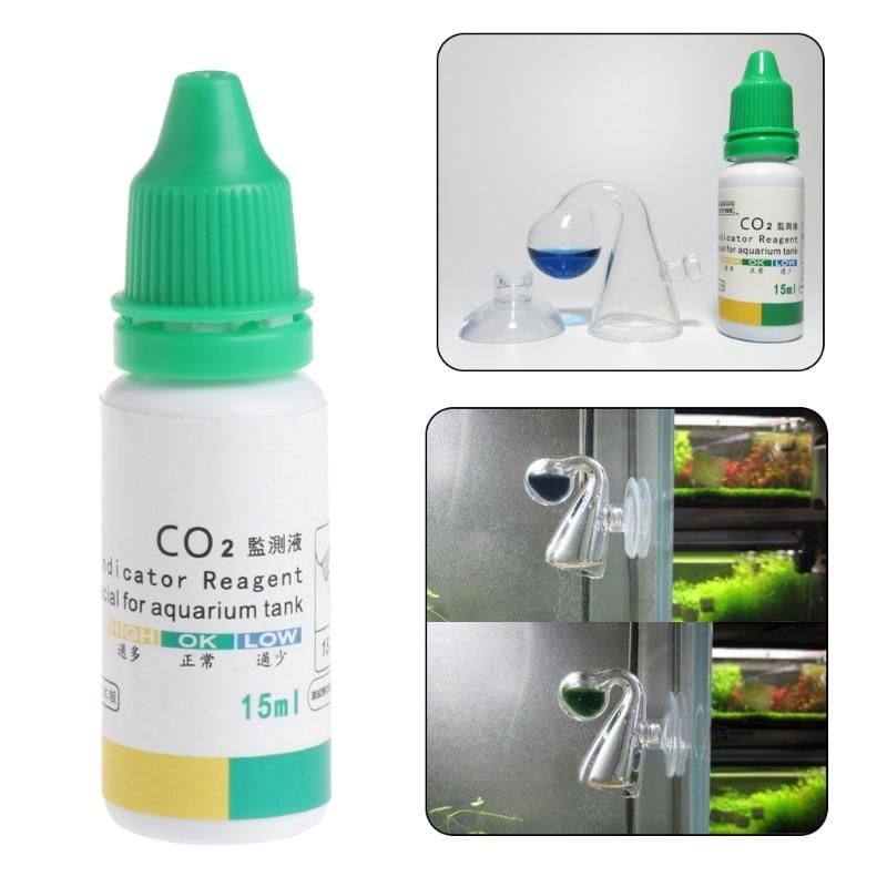 Ձկան բաք CO2 ցրիչ ապակու կաթիլի ստուգիչ - Ապրանքներ կենդանիների համար - Լուսանկար 6
