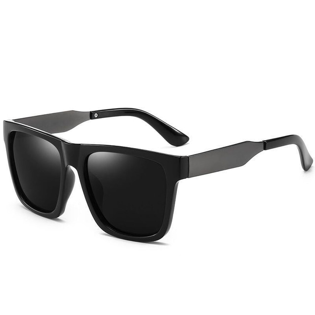2020 Metal Frame Sunglasses Men Brand Polarized Sunglasses Outdoor Driving Classic Mirror Sun Glasses Men  UV400 Eyewear Oculos