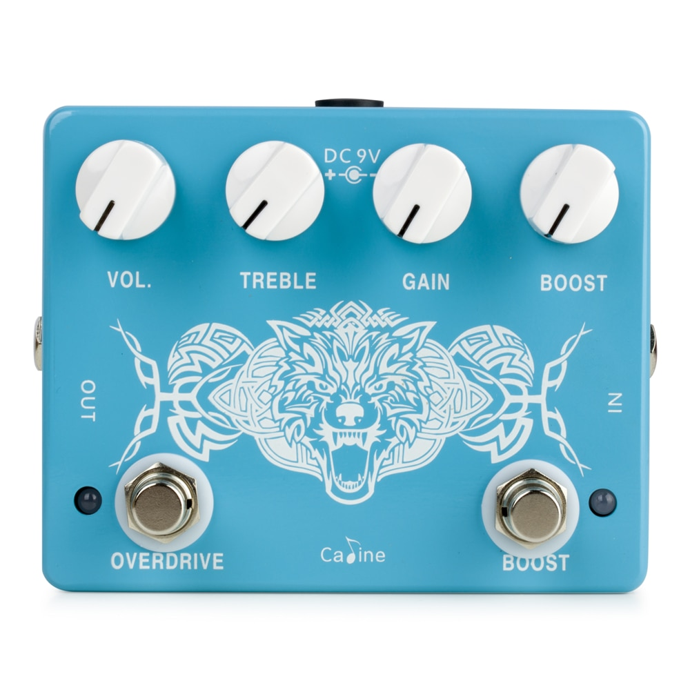 Caline CP-79 Wolfpack Overdrive + Boost 2-in-1 Guitar Effect Pedal Guitar Accessories