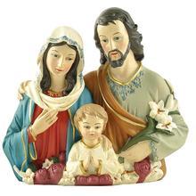 """DROPSHIPPING polyresin 4.5 """"święta rodzina statua katolicki przedmioty religijne prezent na boże narodzenie w domu dekoracji"""