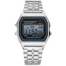 New Led Digital Waterproof Quartz Wrist Watch Dress Golden Wrist Watch Women Men Fashion Watch Men �