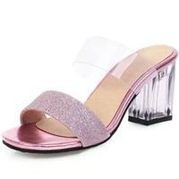 fanyuan 2021size 33 48 women sandals summer fashion womens sandals transparent tape pvc women shoes rome sandals high heels