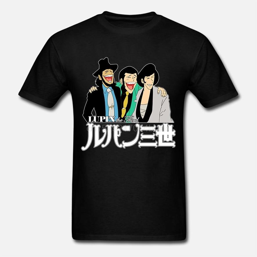 Homens tshirt Lupin O Terceiro Tri mistura Camisa de T das mulheres T-shirt T-shirt top