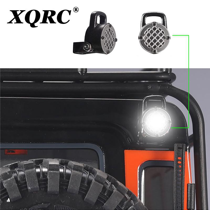 XQRC Spotlight and taillight for 1 / 10 RC tracked car traxxas trx4 trx-4 90046 90047 D90 D110 Jeep Herder car accessories