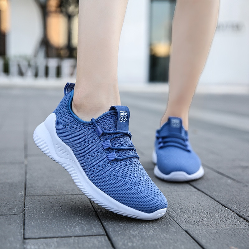 Zapatillas de correr ligeras para mujer, calzado deportivo de mujer, zapatos de...