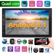 9218 4s Verbeterde 2 Din Android 9.1 Radio Dubbele Auto Stereo Gps Navigatie Bluetooth Wifi Usb Radio Head Unit Rijden snelheid Display