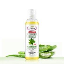 Aloe Vera Face Body Oil Whitening Moisturizing Skin Care Remove Mites For woman Repair Skin