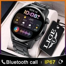 2021 New Fashion Men Smart Watch Call Pilot  Watch IP67 Waterproof Sport Fitness Heart Rate Watch Fo