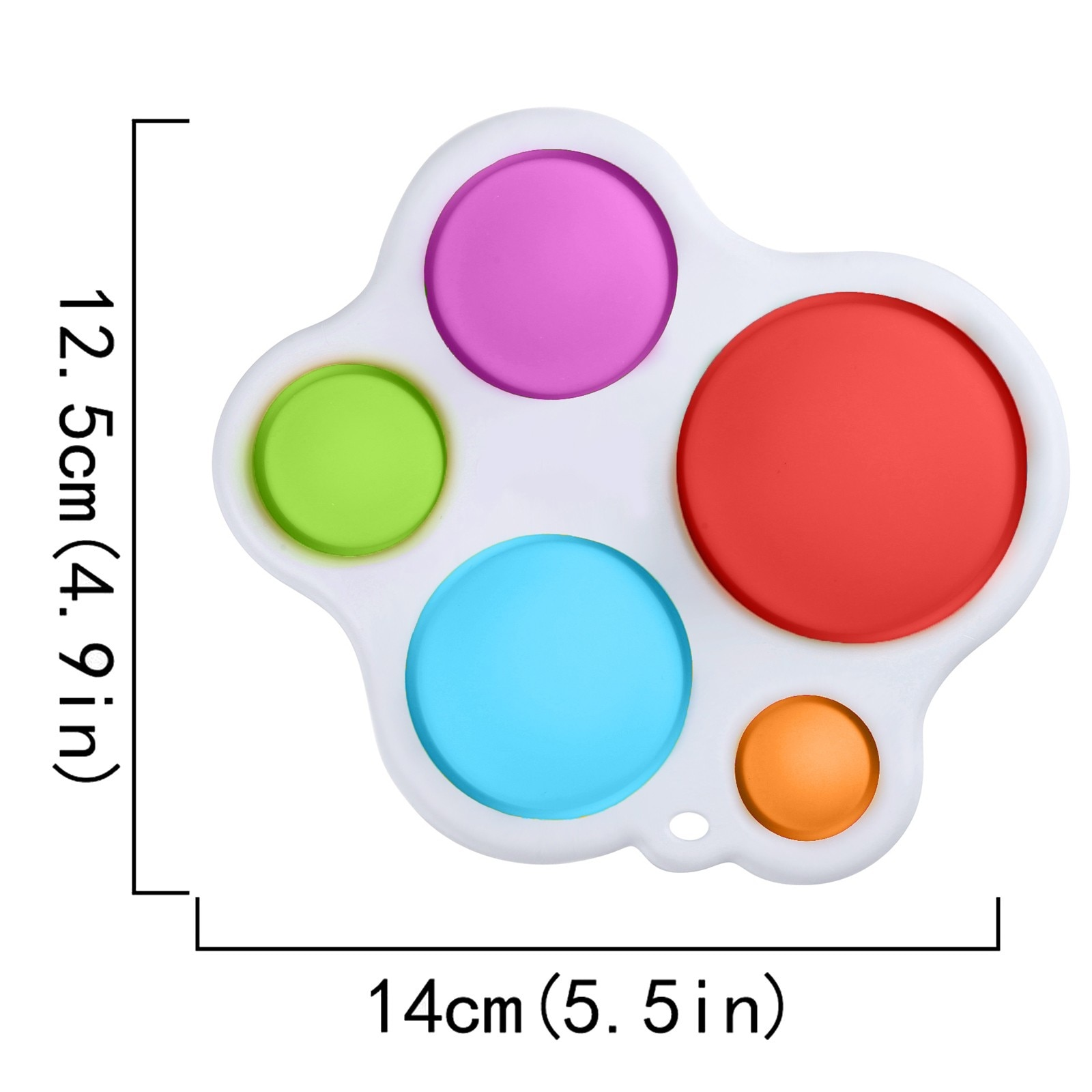 2021Simple Dimple Fidget Toys Popit Infant Early Education Intelligence Development And Intensive Training Toys simpel dimpel W* enlarge