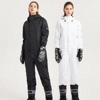 men women ski jumpsuit ski suit windproof waterproof warm skiing snowboarding suit new winter outdoor ski jacket ski pants set