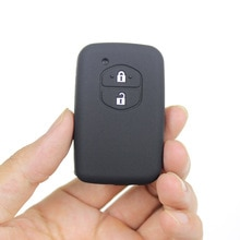 For TOYOTA Silicone Car Keycover Toyota 2-key Silicone Car Remote Control Cover Led Car Accessories