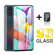 9D Samsun A51 Schutz Glas Für Samsung Galaxy A51 M21 A50 A21s Gehärtetem Glas auf Samsang EINE 51 A51 Kamera glas Schutz Film