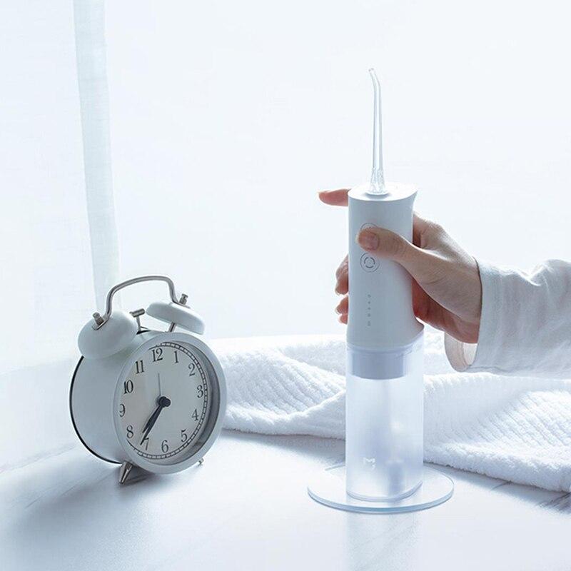 Portable Oral Irrigator Dental Irrigator Teeth Water Flosser bucal tooth Cleaner waterpulse 200ML 1400/min enlarge