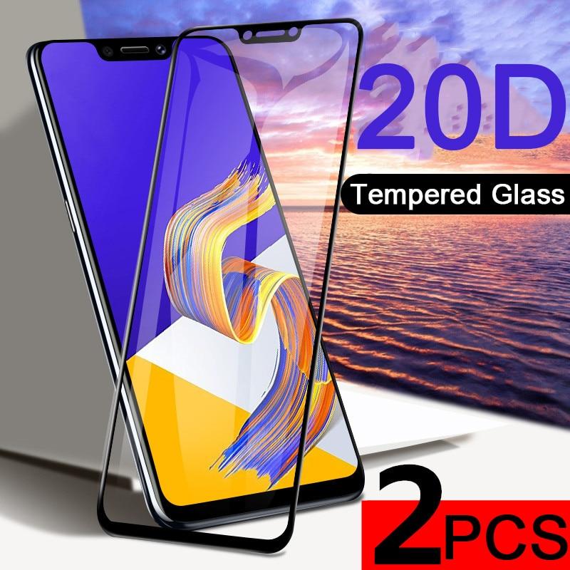 Protector de pantalla de vidrio templado 20D para teléfono móvil, película protectora...