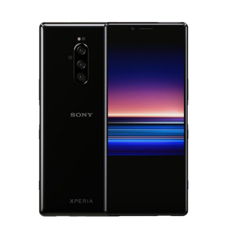 Новый телефон Sony Xperia 1 J9110 мобильный телефон 6,5 дюйм 6 ГБ ОЗУ 128 Гб ПЗУ Восьмиядерный Snapdragon 855 Android 9 IP68 водонепроницаемые телефоны с двумя SIM-картами