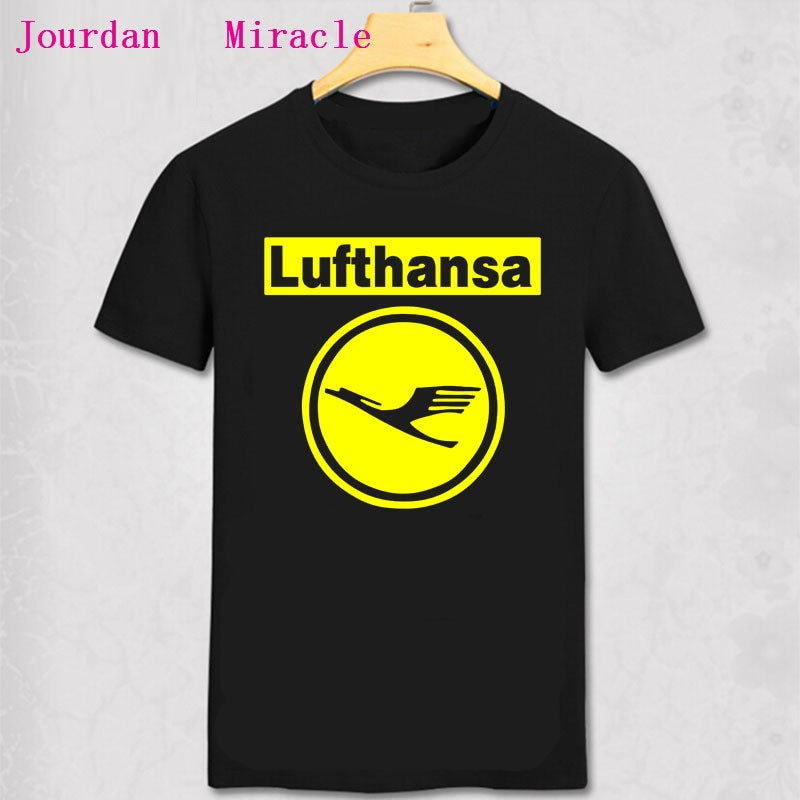 Camiseta de algodón para hombres, camisa Retro de la línea aérea de...