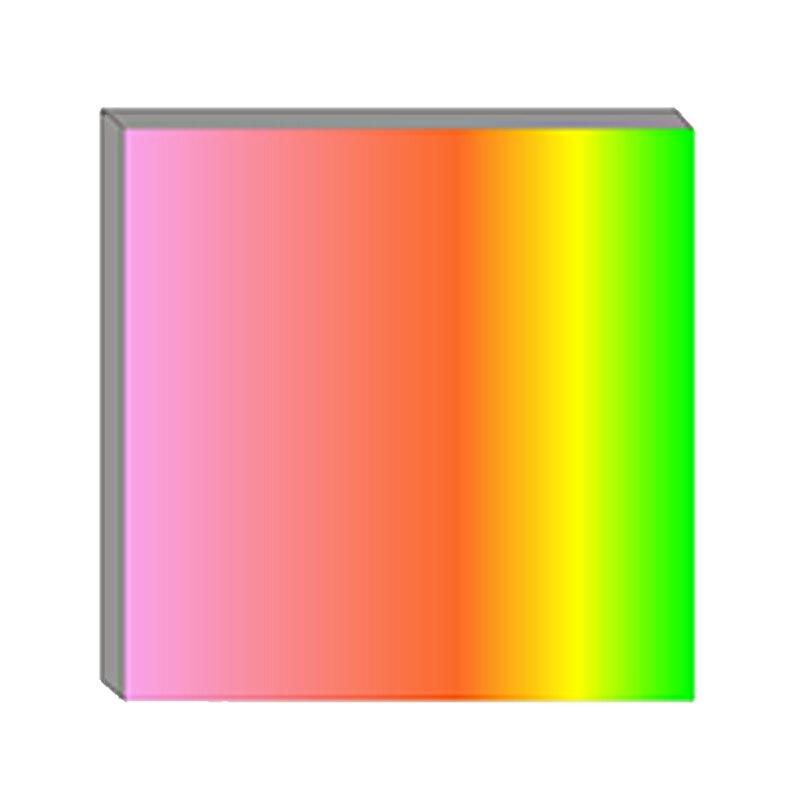 Reja de difracción de doble eje 500 Línea 1mm orthogonal Original inscripción enseñanza experimento espectroscópico espectroscopía