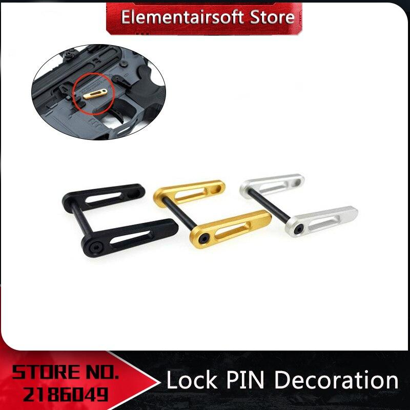 Element Airsoft Rowsfire Lock Pin Dekoration Günstigen Version Für JM Gen.9/HK416/TTM/556 Empfänger Änderung Decor