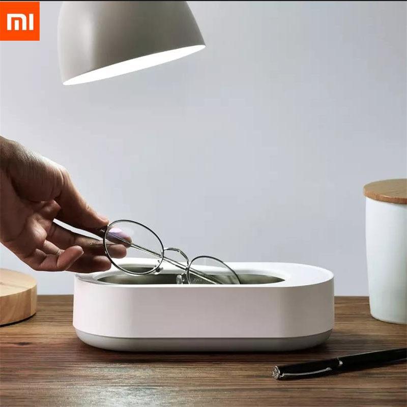 Xiaomi Mijia EraClean máquina de limpieza por ultrasonidos 360 estéreo de 45000Hz vibraciones de alta frecuencia para la limpieza de gafas