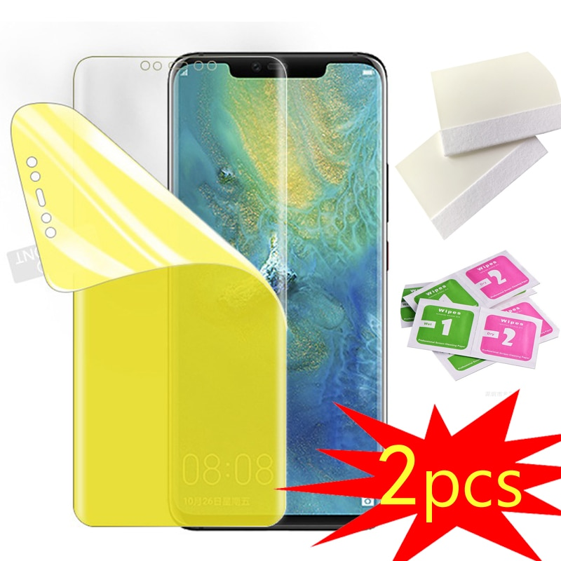 2PCS TPU Hydrogel Film For Nokia 5.1 X5 Film Screen Protector Soft Explosion-proof For Nokia 7.2 Full Coverage