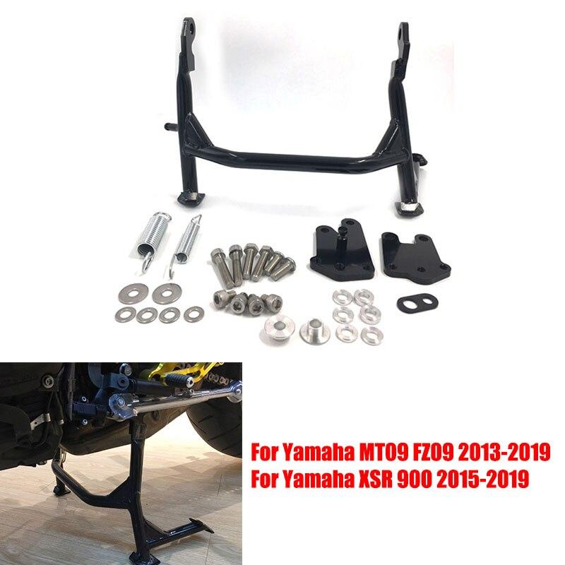 Soporte de pie soporte de montaje lateral para Yamaha MT09 FZ09 MT-09 FZ-09 XSR900 MT FZ 09 2013-2019