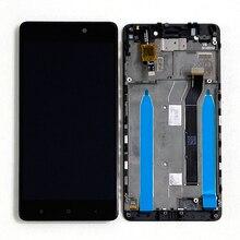 """5,0 """"Оригинальный M & Sen для Xiaomi Redmi 4 (2 ГБ ОЗУ 16 Гб ПЗУ) ЖК экран + сенсорная панель дигитайзер для Redmi 4 ЖК дисплей рамка"""