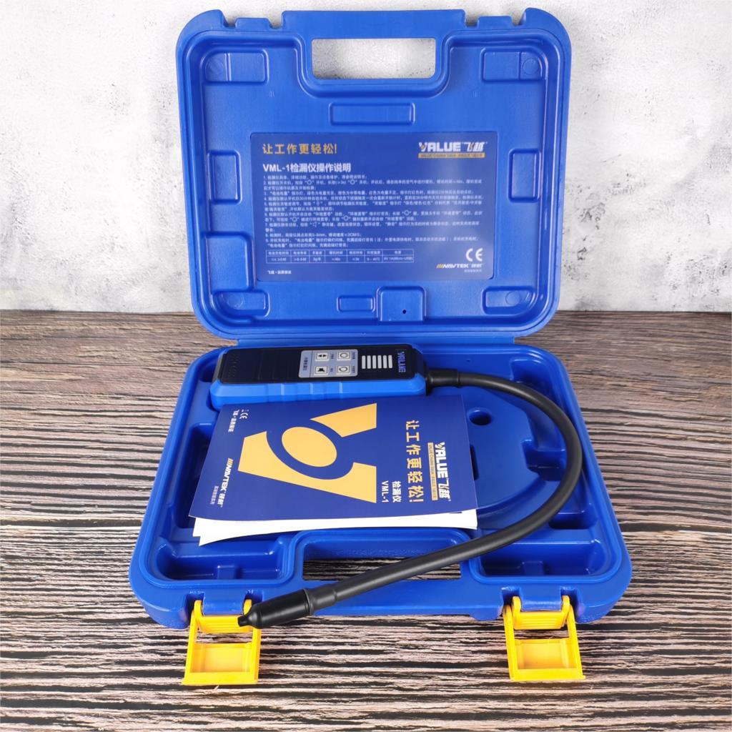 VML-1 электронный детектор утечки R410 R22 R32 хладагент обнаружения галогенный кондиционера для автомобиля галогенные детектор