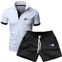 camiseta informal de alta calidad para hombre polo pantalones cortos de manga corta traje de algod%c3%b3n camiseta de ocio ch%c3%a1nd