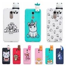 Etui pour Xiaomi Redmi 5 Plus housse Redmi 5 3D mignon Panda licorne étui en silicone Funda pour Xiaomi Redmi 5 Plus Xiomi étui fille