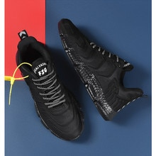 Men Sneakers 2021 summer new men's black sports shoes student fashion casual  running shoes flying w