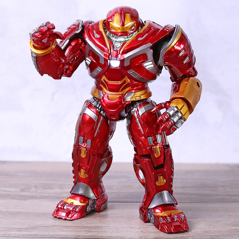 Marvel vengadores Hulkbuster Mark44 figura de acción de luz LED Hulk Buster Hombre de Hierro de Tony Stark leyendas guerra del infinito juego Juguetes