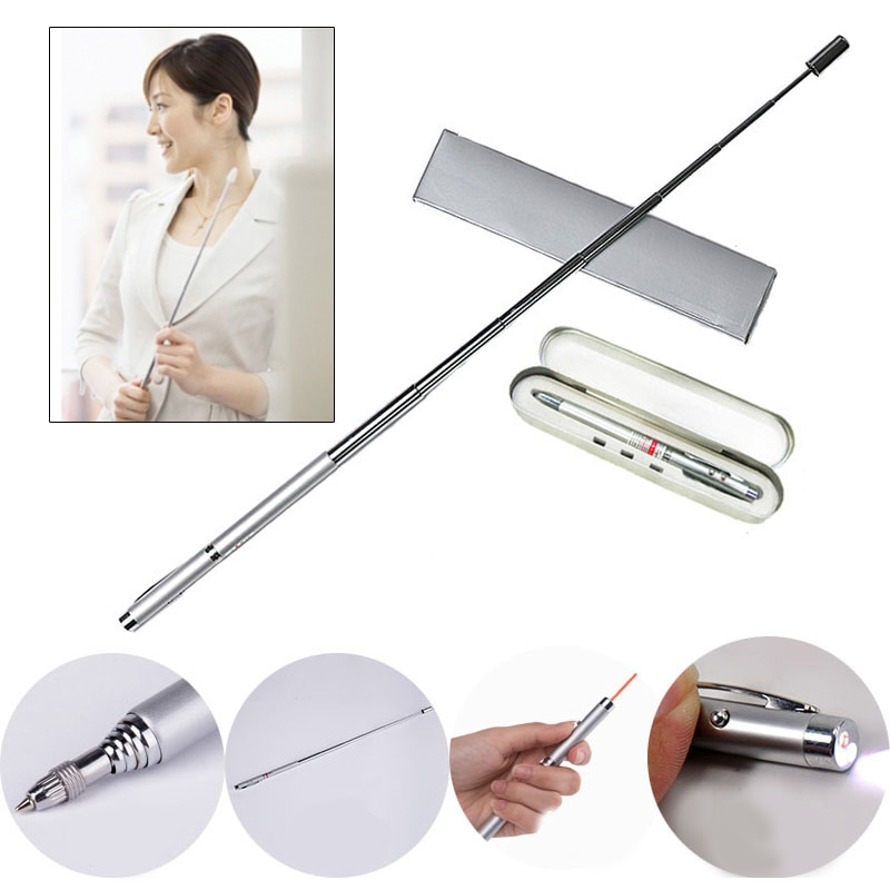 Instructions Pen Universal Portable 14.8cm Metal Stationery Mobile Phone Pointer Pen Notebook EBook