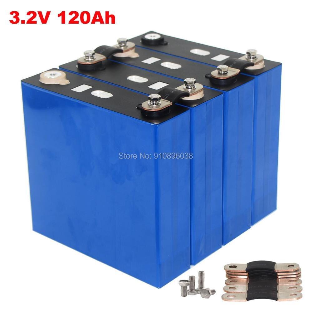 4 шт./лот 3,2 В Ач класс A LiFePO4 аккумулятор для солнечной энергетической системы 12 в 1 кВт