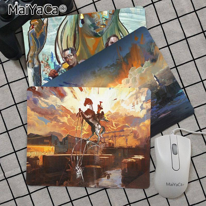 Babaite Top Quality Disco Elysium gamer play mats Mousepad Top Selling Wholesale Gaming Pad mouse