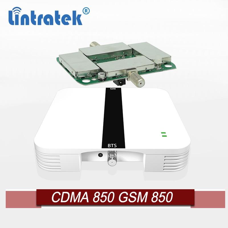 Lintratek-amplificador de teléfono móvil 2g 3g, 850 Mhz, repetidor de sinal, gsm,...