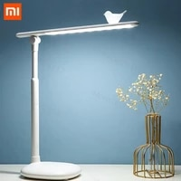 xiaomi one fire led desk lamp 3 color stepless dimmable touch usb chargeable reading eye protection lamp night light