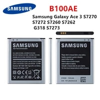 orginal b100ae 1500mah battery for samsung galaxy ace 3 s7270 s7272 s7260 s7262 g318 s7273 mobile phone battery