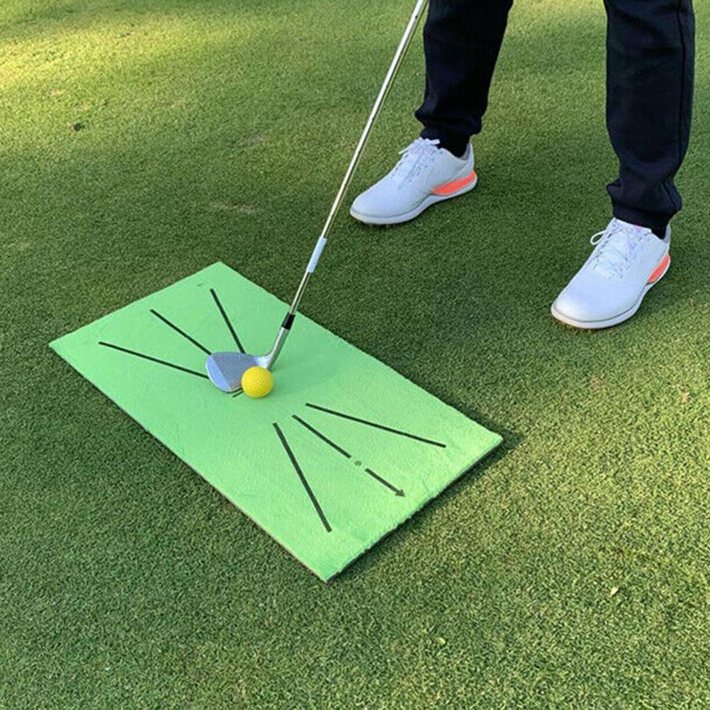 Портативный коврик для гольфа, дрессировочный мат для гольфа, для ударов, прочное оборудование для практики игры в гольф, для двора, офиса, а...