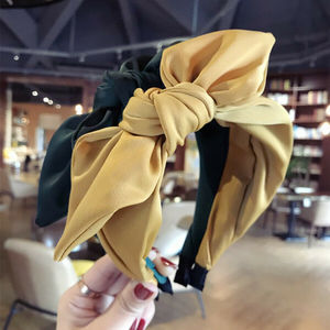 Solid Colors Hair Knotted Hair Band for Women Headbands Hairbands Headwear New Arrival