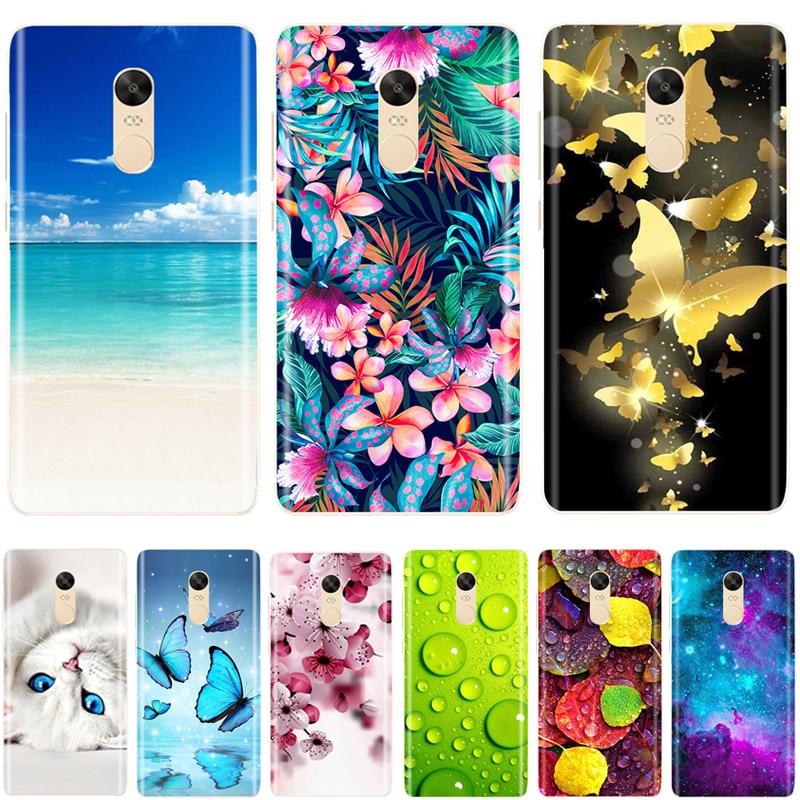 Fashion Case For Xiaomi Redmi Note 4 Global Version TPU Cover Note 4x / Note 4 Phone Case For Xiaomi Redmi Note 4X Coque Fundas