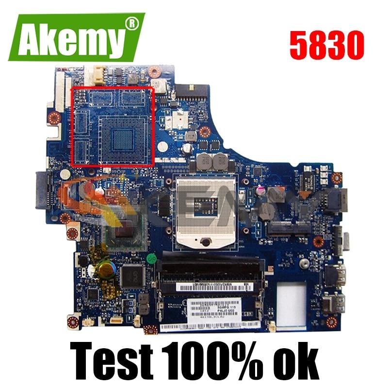 AKEMY P5LJ0 LA-7221P اللوحة الرئيسية لشركة أيسر أسباير 5830 اللوحة الأم للكمبيوتر المحمول MBRHM02001 DDR3