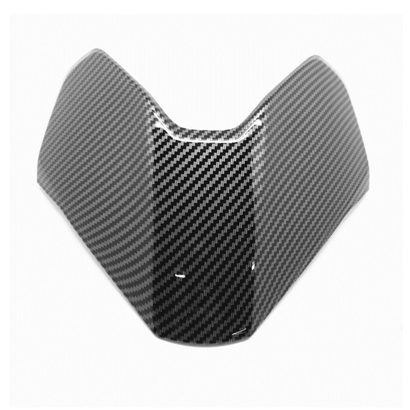 مناسب لـ Ducati Hypermotard 950 19-2020 العلوي الأمامي الأنف العلوي هدية من ألياف الكربون الطلاء