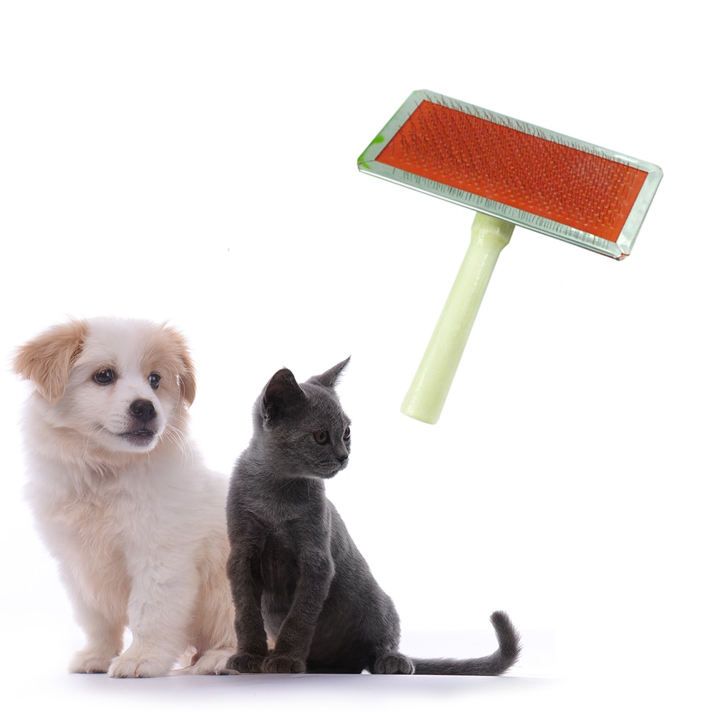 Pet Comb Dog Needle Comb Pet Doy Puppy Cat Hair Gilling Beauty Bath Massage Grooming Comb Removing B