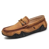 2021 new men shoes luxury brand slip on driving shoes fashion leather casual shoes classic soft moccasins loafers big size
